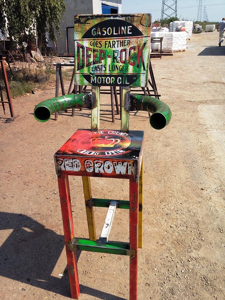 Industrijski dizajn stolice